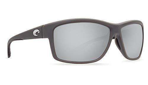 Costa Del Mar Mag Bay Sunglasses, Matte Gray, Silver Mirror 580G Lens