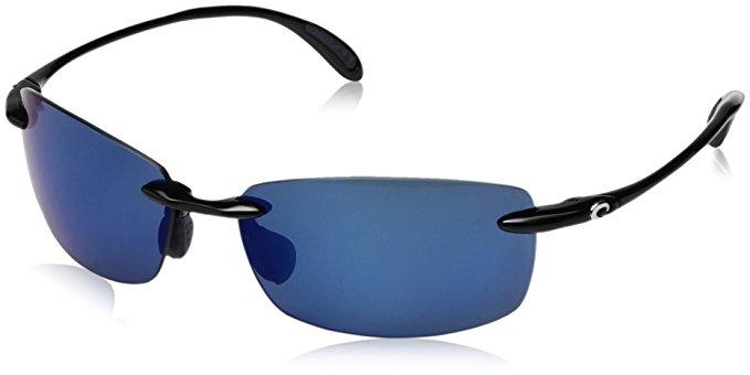 Costa del Mar Unisex-Adult Ballast Polarized Iridium Rimless Sunglasses