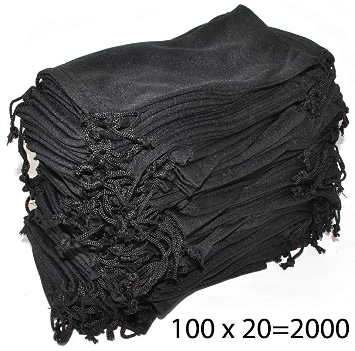 Pouches for Glasses Cleaning Case Bag 1, 6, 12, 24,100, 2000 PCS