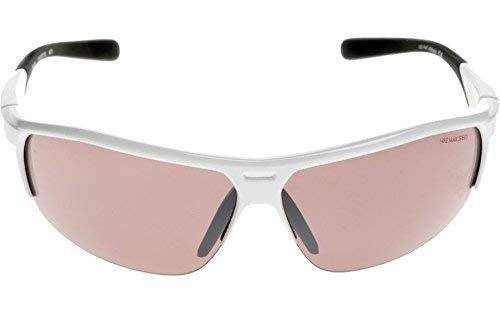 Nike Max Speed Tint Lens Run X2 E Sunglasses, White/Black Frame