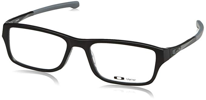 Oakley Chamfer OX8039-0151 Eyeglasses Satin Black Clear Demo 51 18