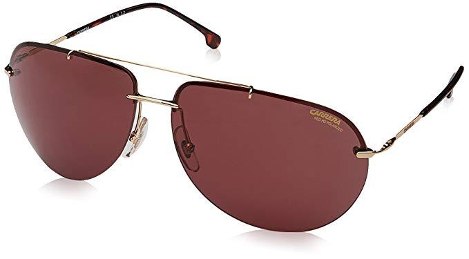 Carrera 149/s Aviator Sunglasses, Gold, 65 mm