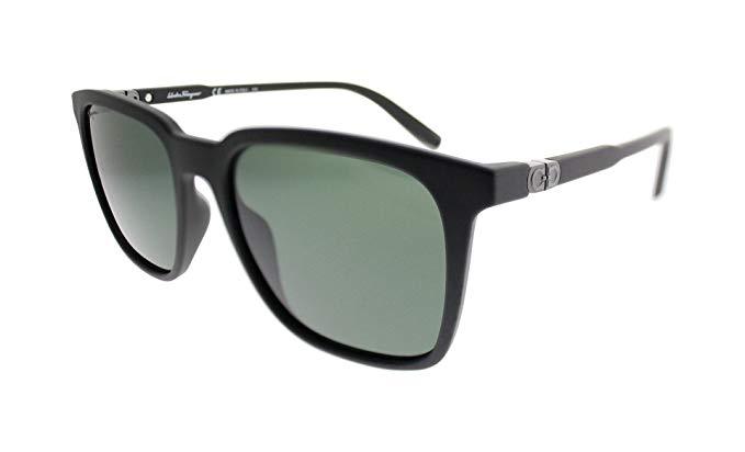 Salvatore Ferragamo SF 843S 002 Matte Black Sunglasses