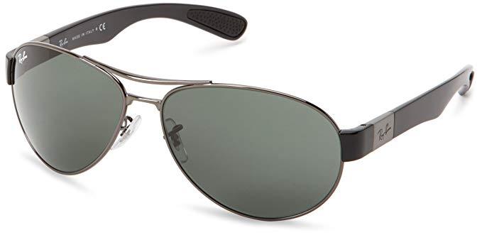 Ray-Ban 0RB3509 Steel Men's Sunglasses
